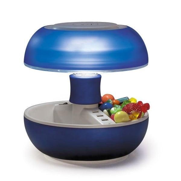 Stolní lampa a nabíječka v jednom Joyo Light, modrá