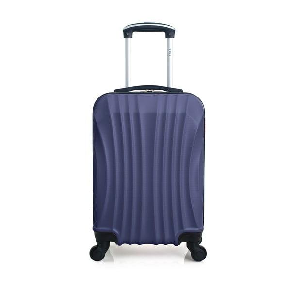 Modrý cestovní kufr na kolečkách Hero Moscou-e,30l