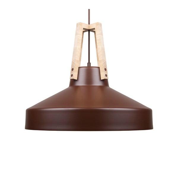 Hnědé stropní světlo Loft You Work, 33 cm