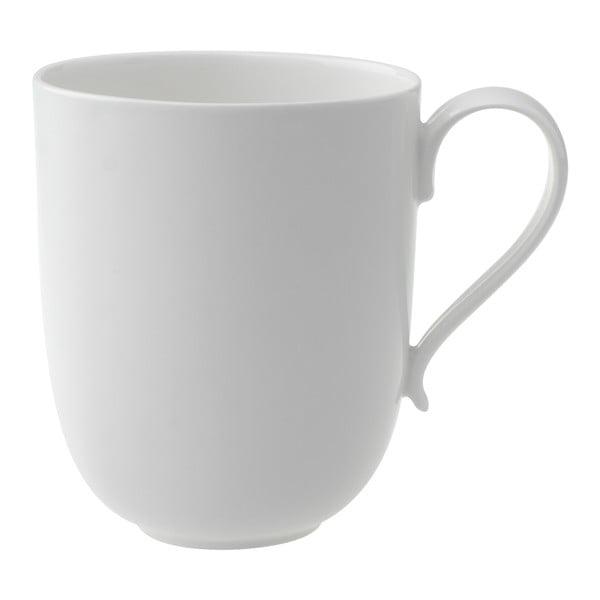 Biely porcelánový hrnček Villeroy & Boch New Cottage, 480 ml