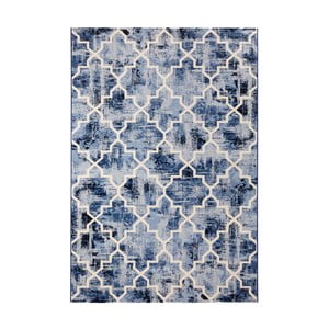 Covor Mint Rugs Diamond, 200 x 290 cm, albastru