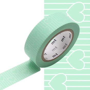 Bandă decorativă Washi MT Masking Tape Catherine, rolă 10 m