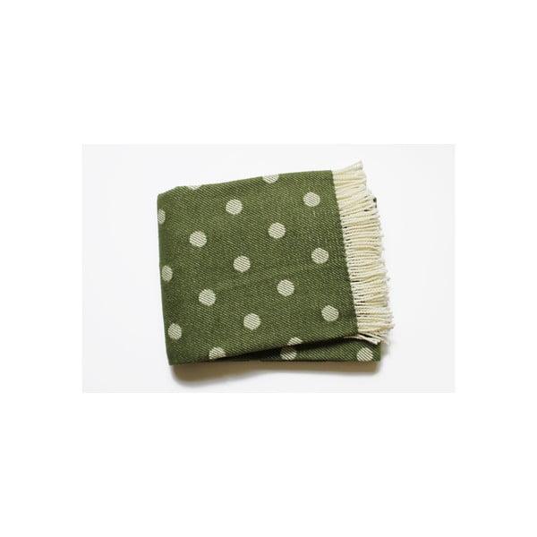 Deka Sevilla Plaid Moss Green, 140x180 cm