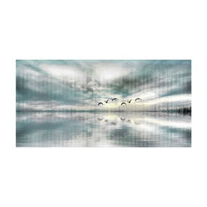 Obraz Marmont Hill Birds Skylight, 61x30cm