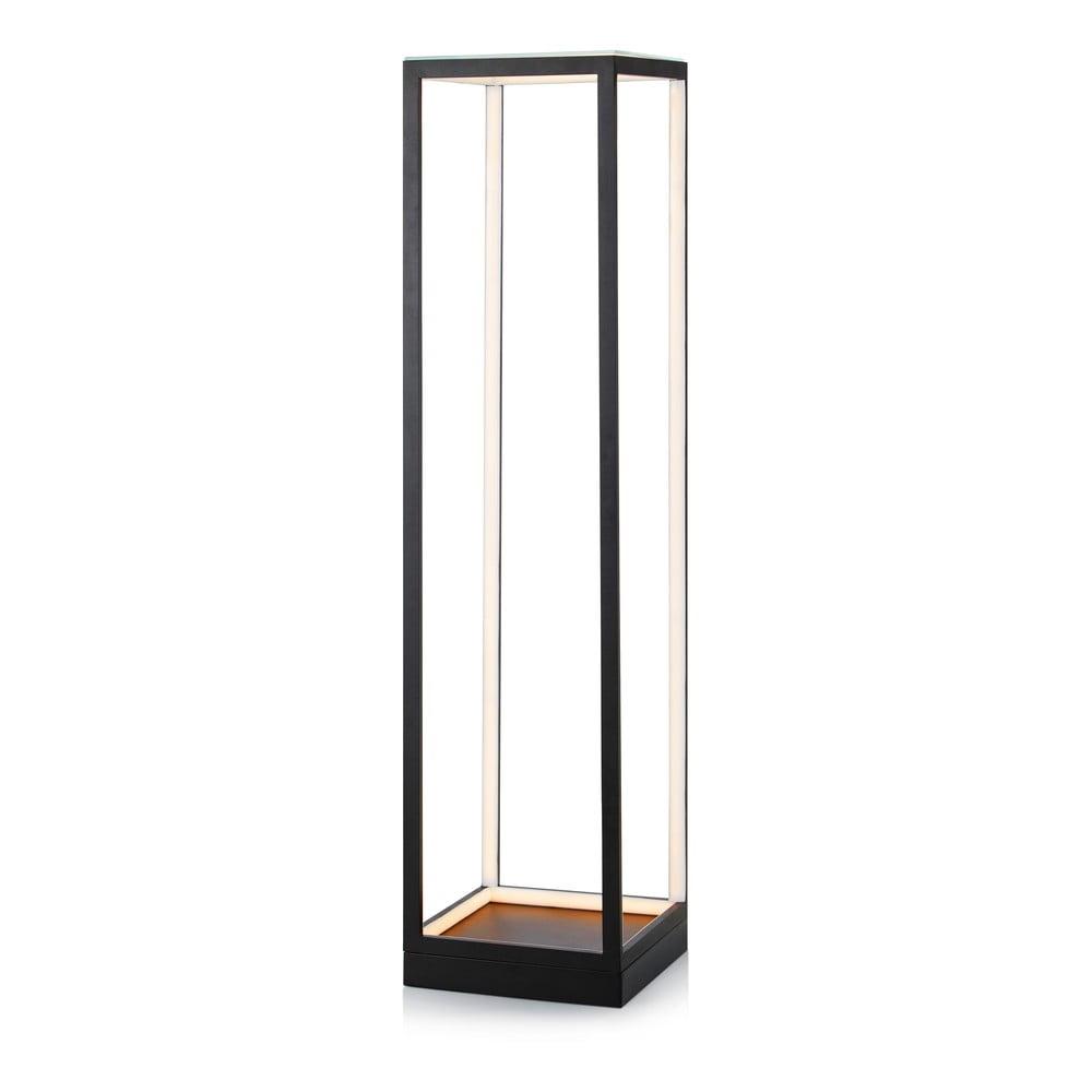 Černá volně stojící lampa Markslöjd Mood Floor LED BLack
