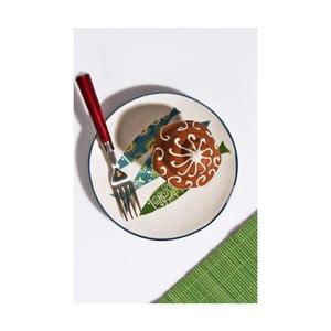 Sada 6 keramických dezertních talířků Kutahya Jessie