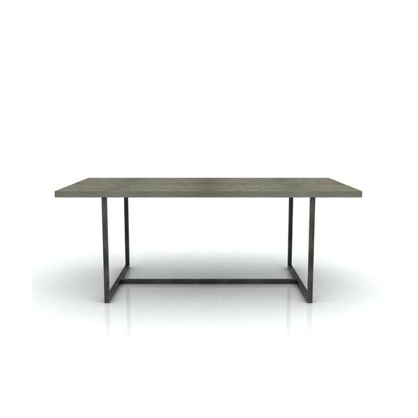 Stół do jadalni z drewna akacji Livin Hill Flow, 100x200 cm