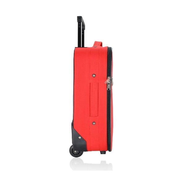 Cestovní kufr Classic Red S