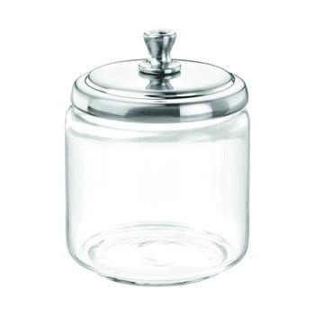 Recipient din sticlă cu capac iDesign Apothecary imagine