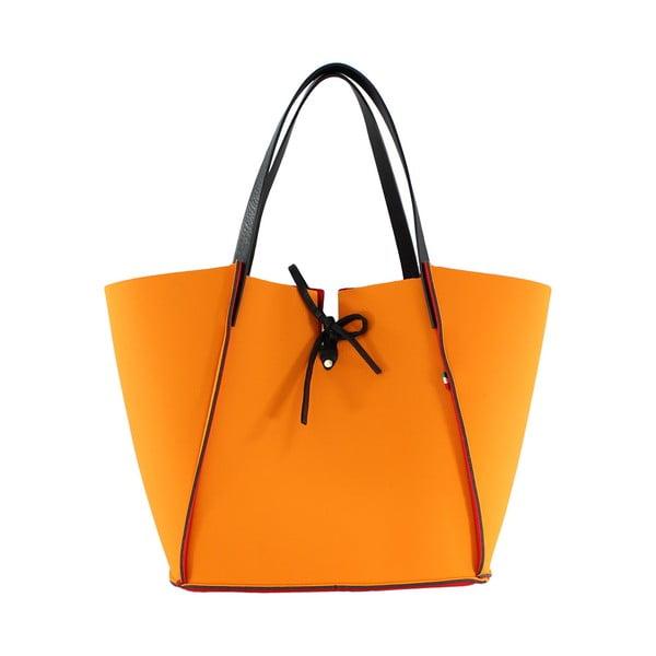Neoprenová kabelka Fiertes, oranžová
