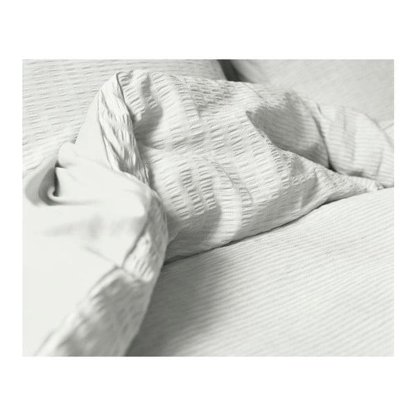 Krémové povlečení z bavlny na dvoulůžko Sleeptime, 240 x 200 cm
