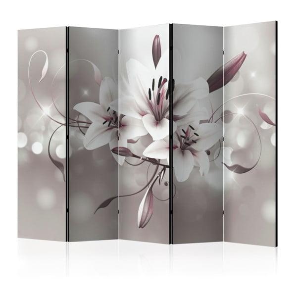 Paraván Artgeist Gray Lily, 225 x 172 cm