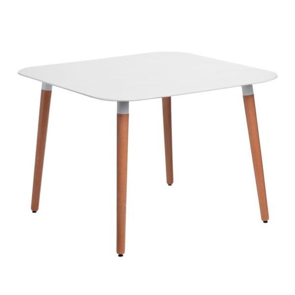 Bílý stůl D2 Copine, 100x100 cm