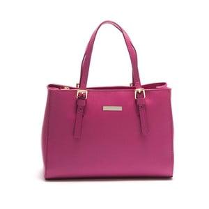 Poșetă din piele Isabella Rhea Licuala, roz