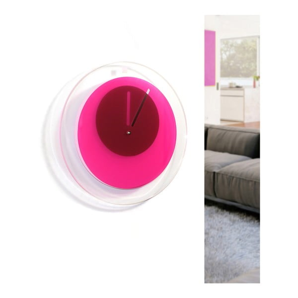 Hodiny Orbit, růžové