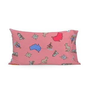 Povlak na polštář Baleno Kangaroo Pink, 50 x 75 cm