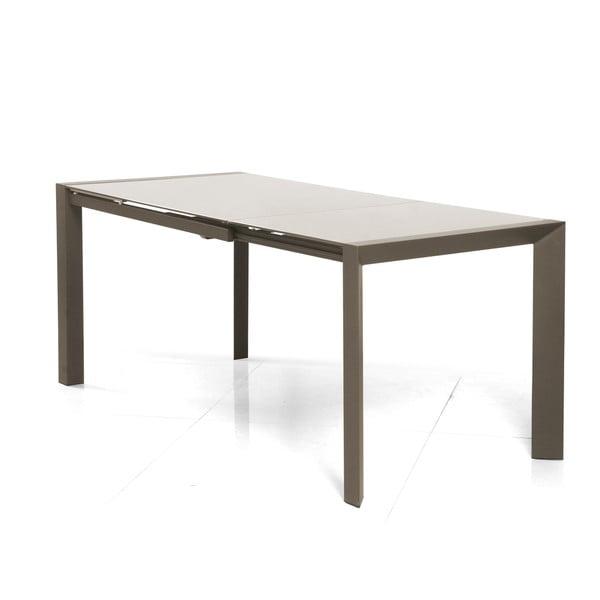 Rozkládací jídelní stůl Seller, 120-180 cm, cappuccino