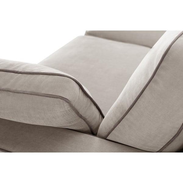 Dvoudílná sedací souprava Jalouse Maison Serena, taupe
