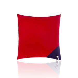 Polštář Rope Red, 40x40 cm