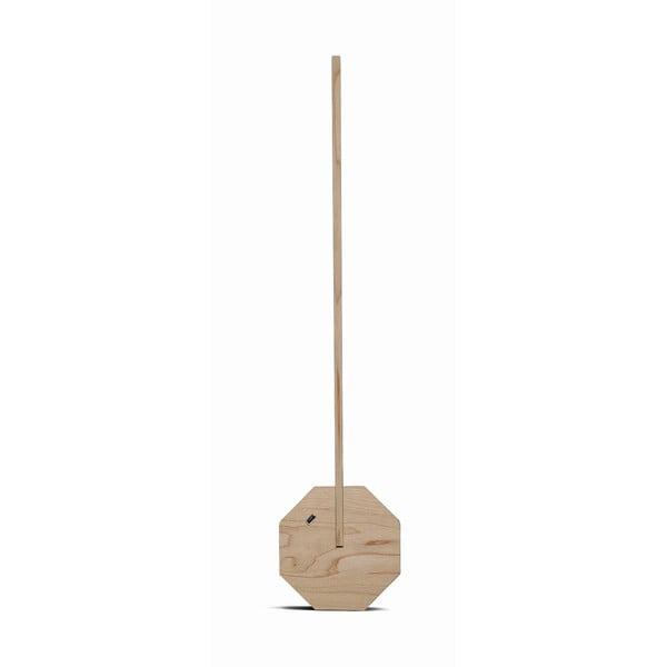 Světle hnědá stolní lampa Gingko Octagon