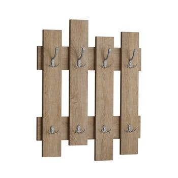 Cuier perete în decor de lemn de stejar Wave Oak de la Decortie