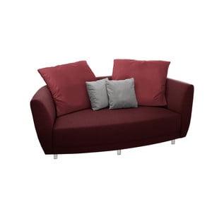 Canapea cu două locuri Florenzzi Viotti Red/Light Gre