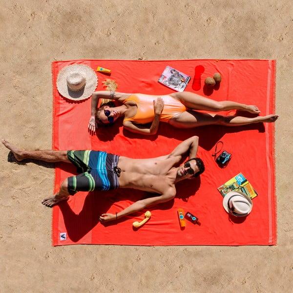 Plážový ručník Origama XL Tomato