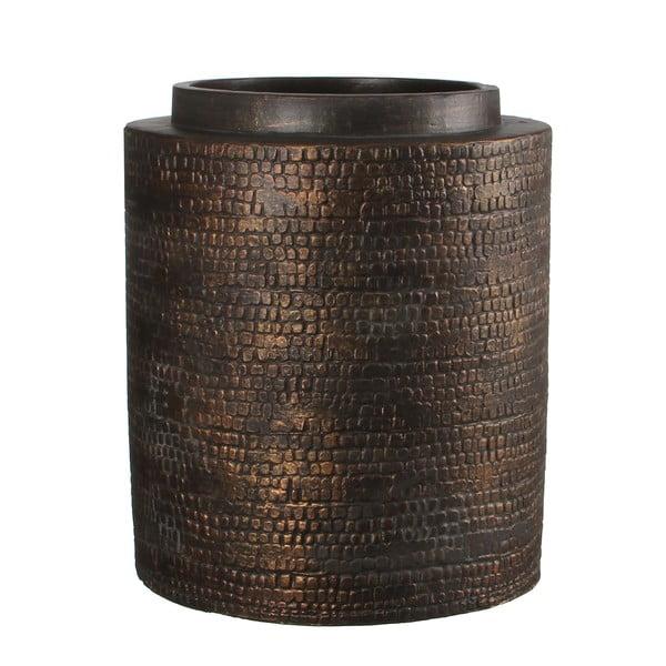 Keramická váza Brasa Black Copper, 32 cm