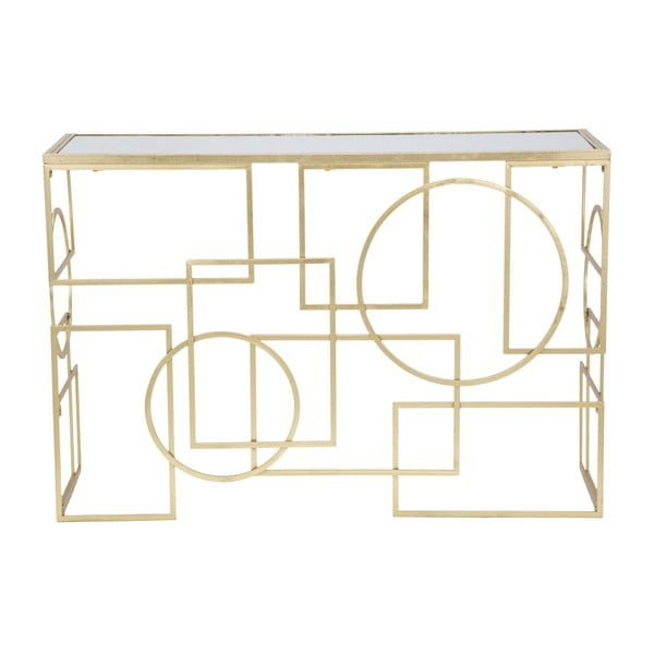 Maiette konzolasztal vas konstrukcióval, 120 x 41 cm - Mauro Ferretti