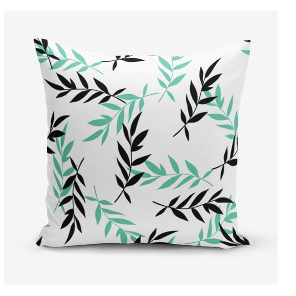 Față de pernă Minimalist Cushion Covers Black Tea, 45 x 45 cm