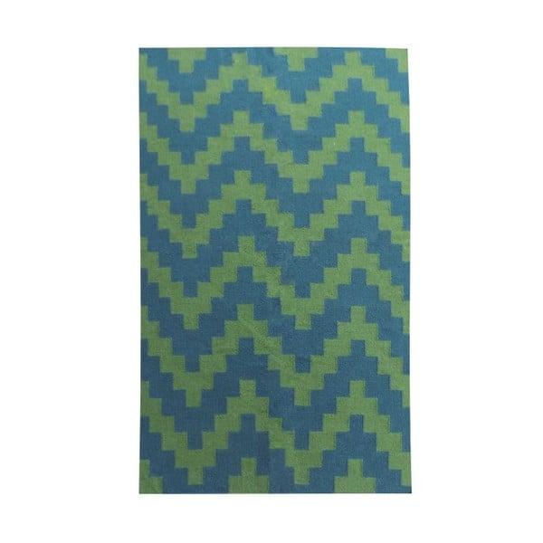 Vlněný koberec Kilim Modern 32, 100x160 cm