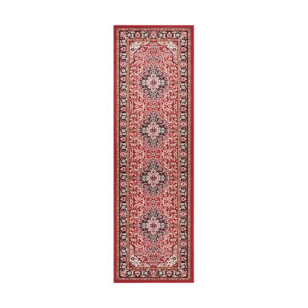 Czerwony chodnik Nouristan Skazar Isfahan, 80x250 cm