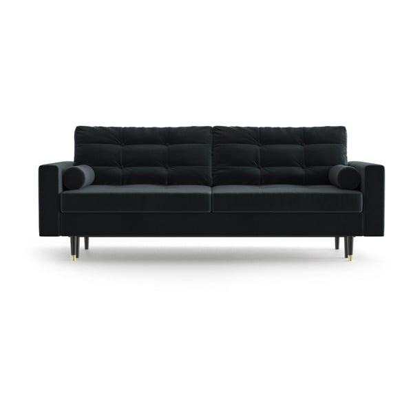 Aldo Anthracite antracitszürke háromszemélyes kinyitható kanapé - Daniel Hechter Home