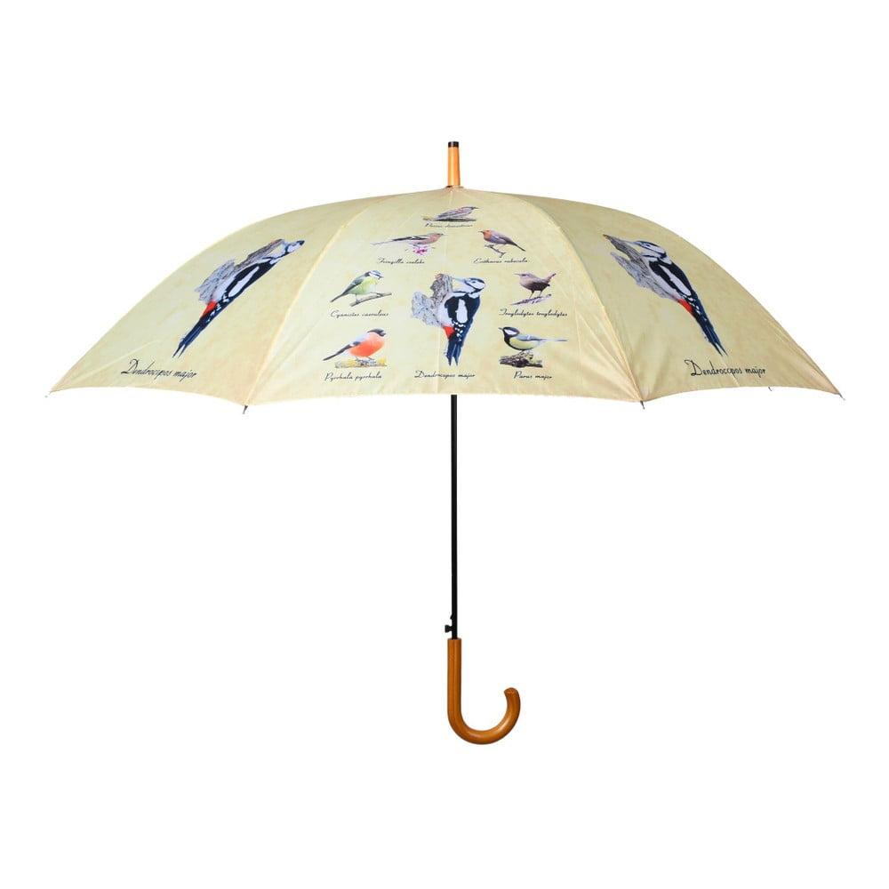 Deštík s potiskem ptáčků Esschert Design, ⌀ 120 cm