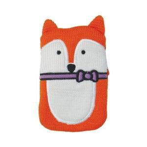 Nahřívací gelový polštářek s pleteným povlakem Ladelle Mr Fox