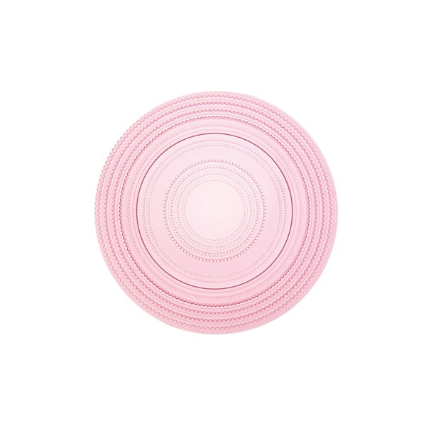 Kulatý skleněný podnos Pois Rosa