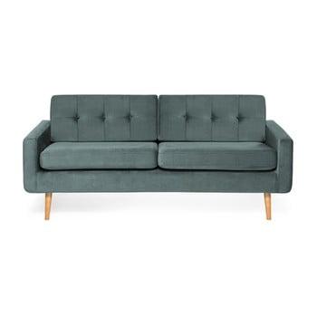 Canapea cu 3 locuri Vivonita Ina Trend, albastru – gri de la Vivonita