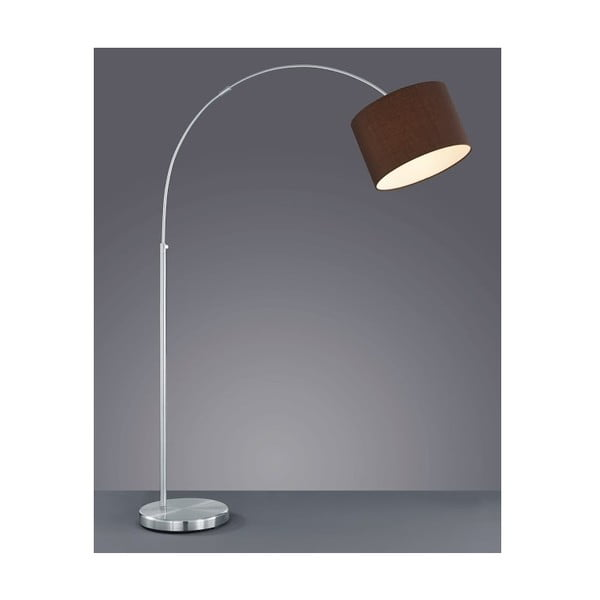 Stojací lampa 4611 Serie 215 cm, hnědá