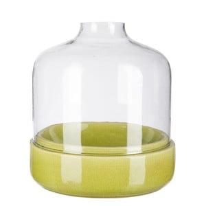 Svícen Ceramic Green, 27x27x28 cm
