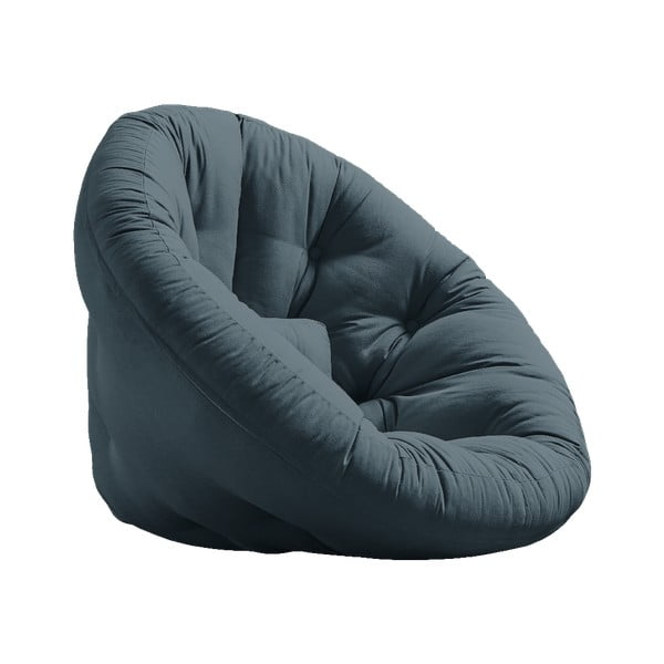 Nido Petroleum kék kinyitható fotel - Karup Design
