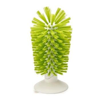 Perie pentru chiuvetă, ci ventuză, Joseph Joseph Brush-up, verde de la Joseph Joseph