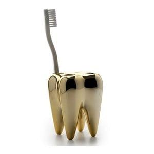Zoubek na kartáčky Tooth, zlatý