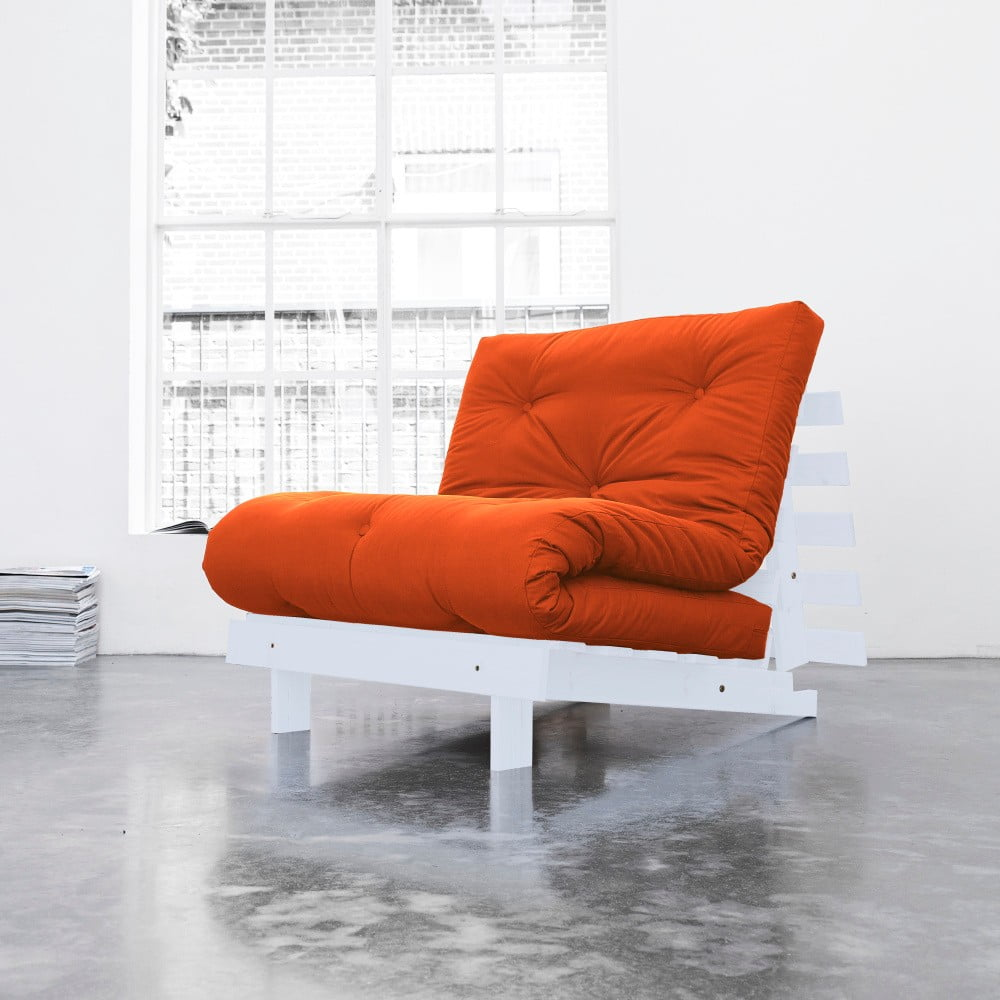 Variabilní křeslo Karup Roots White/Orange