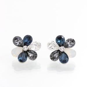Náušnice s krystaly Swarovski Elements Laura Bruni Tundzha