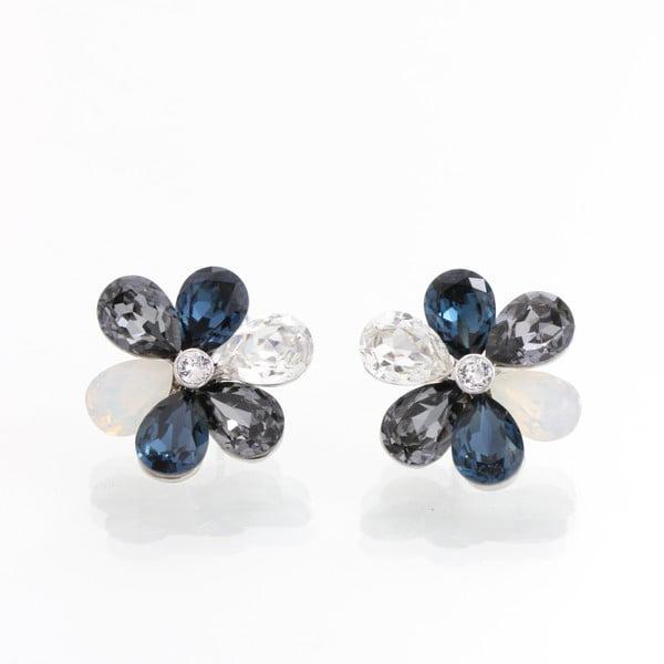 Tundzha fülbevaló Swarovski Elements kristályokkal - Laura Bruni