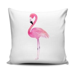 Polštář Home de Bleu Painted Flamingo, 43x43cm