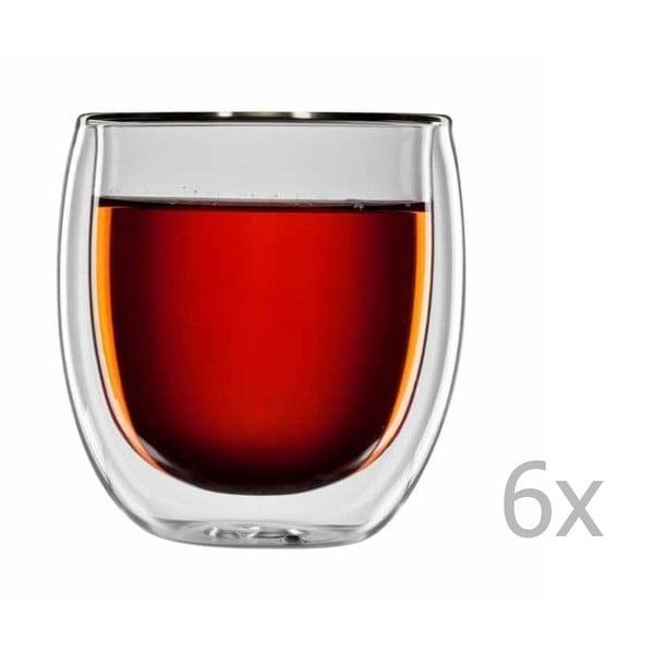 Sada 6 sklenic na čaj bloomix Tanger
