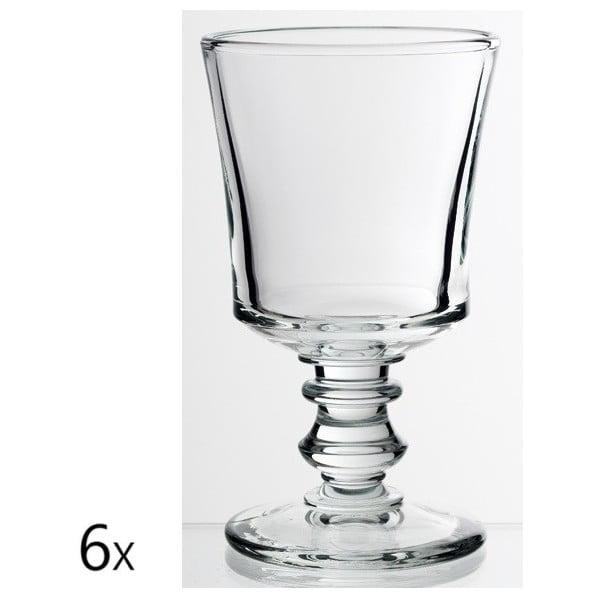 Sada 6 sklenic na víno Jacques, 240 ml