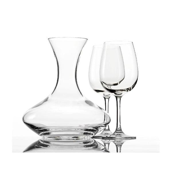 Set 2 sklenic a dekantéru na víno Weinland