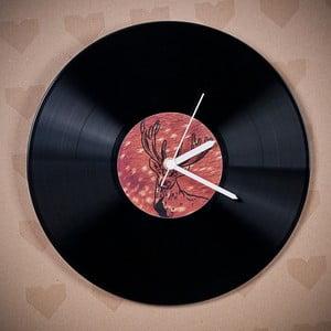 Vinylové hodiny Jelen